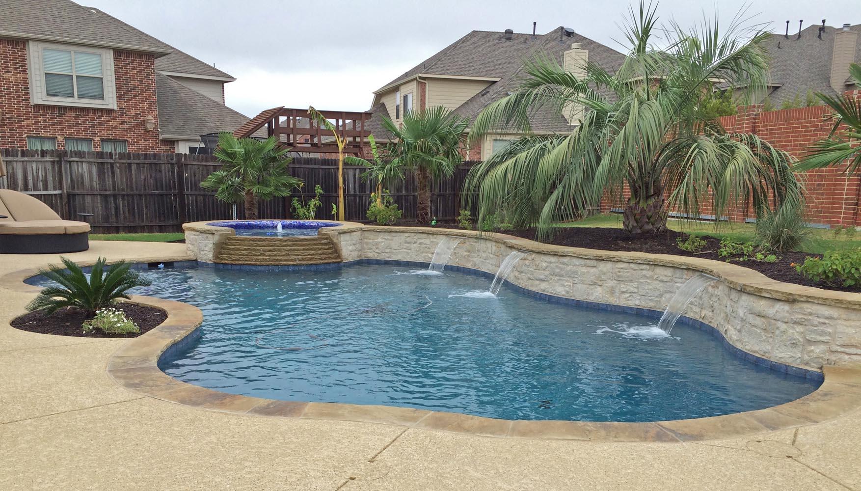 Freeform Pools Photo Gallery Custom Pools Images Dallas