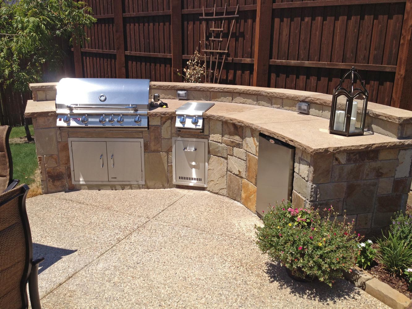 Dallas outdoor living gallery frisco outdoor kitchen plano for Dallas outdoor kitchens