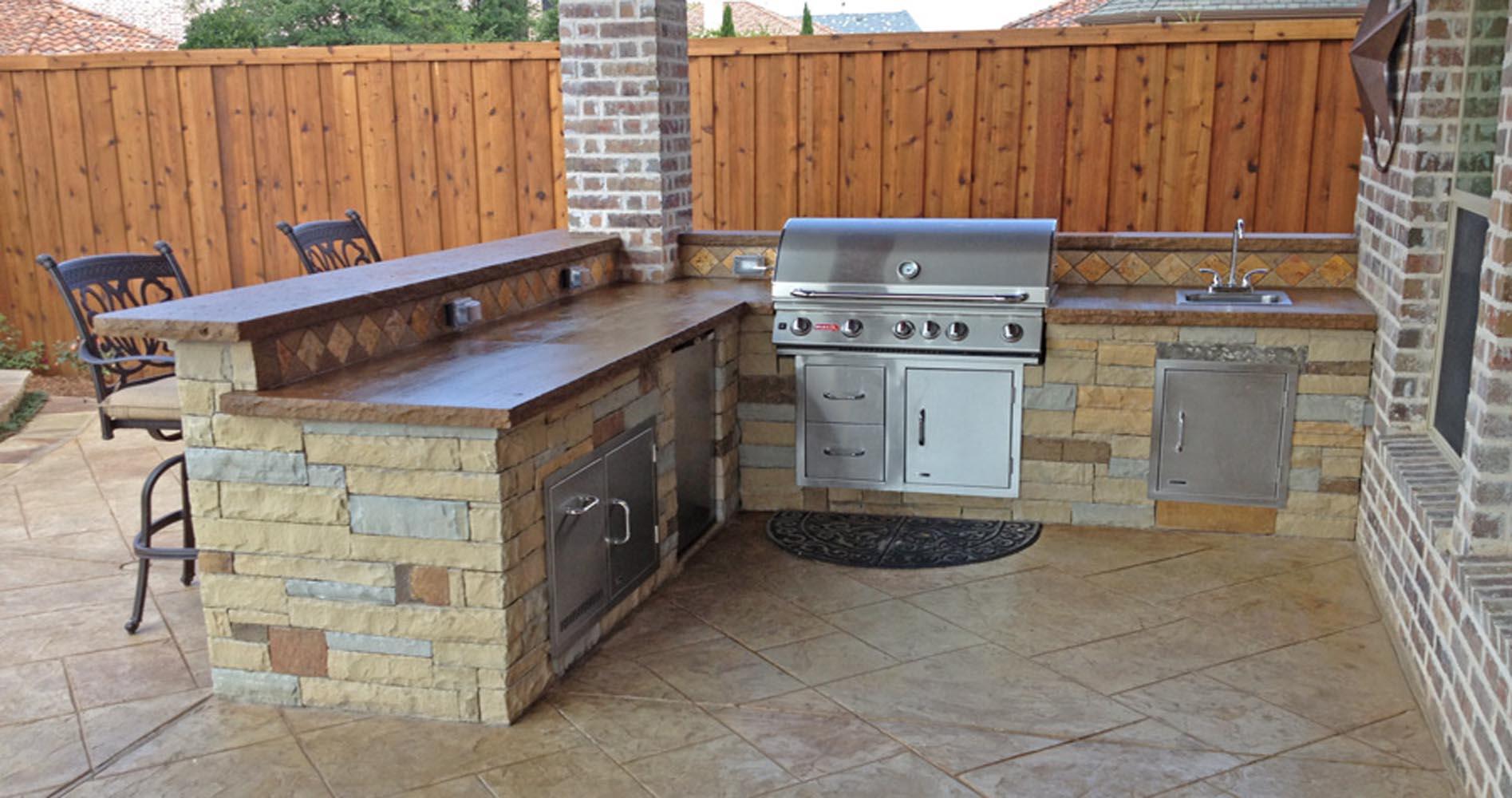 Dallas outdoor living gallery frisco outdoor kitchen plano for Dallas outdoor kitchen designs