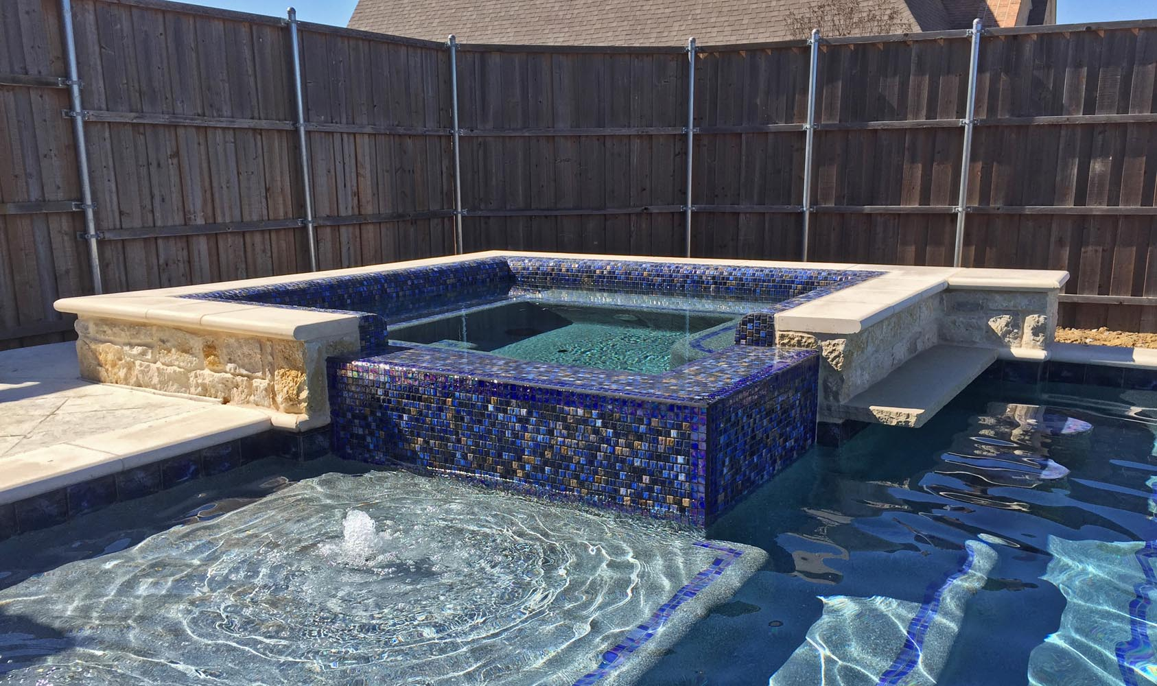 Custom Inground Spa Design Spa Gallery Photos Dallas Frisco