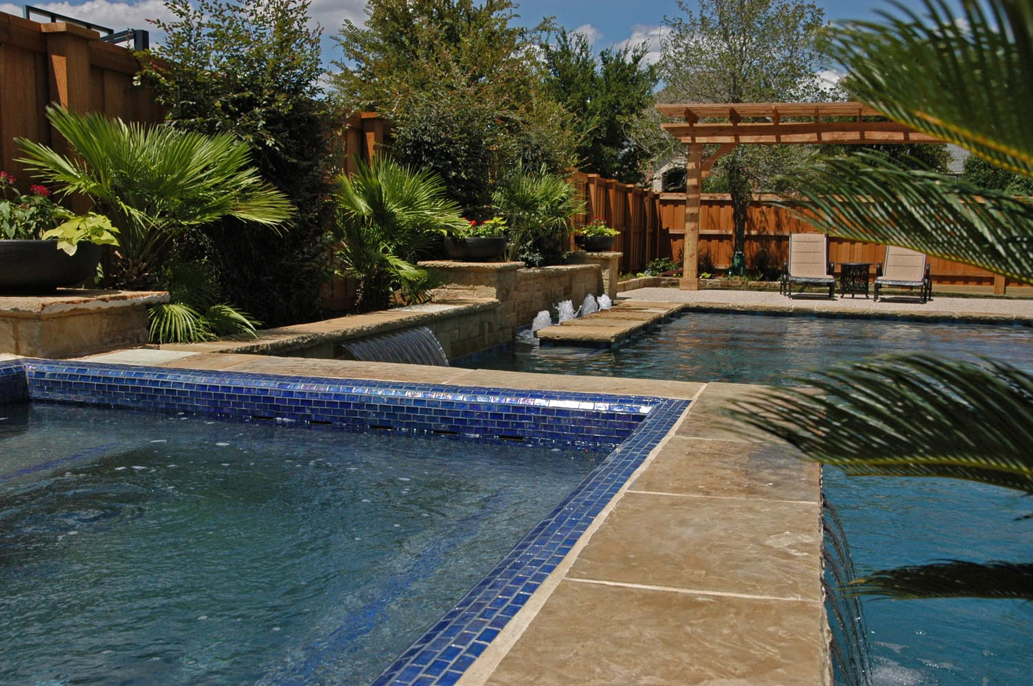 Dallas, Plano Pool Fountains, Custom Water Features Gallery