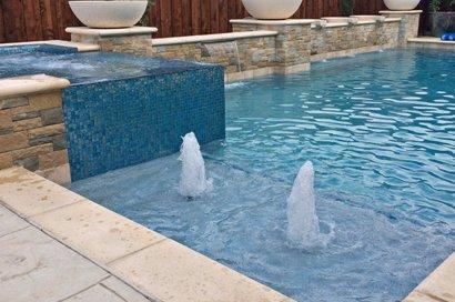 Dallas Pool Fountains, Waterfalls, Bubblers Custom Water ...